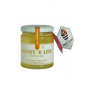 Honey D'Lite- Himalayan White Honey- 100% Organic