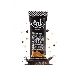 Eat Anytime Chocolate Peanut Butter Bars - Pack Of 6