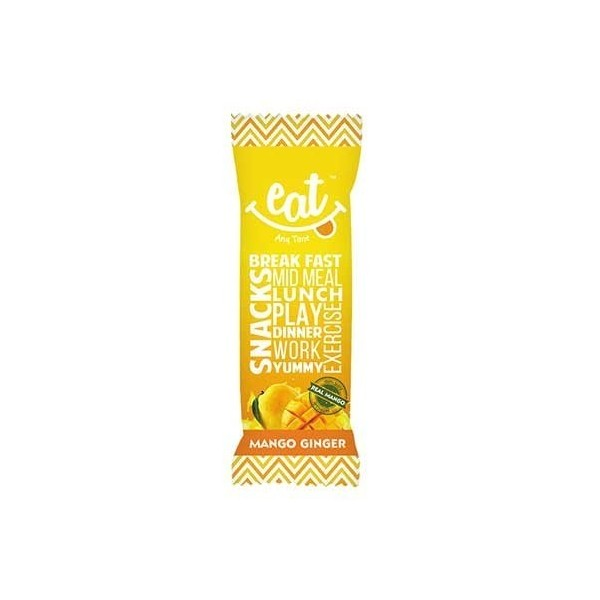 Eat Anytime Mango Ginger Bars - Pack Of 6