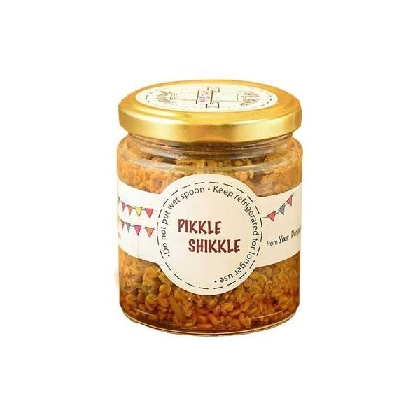 Pikkle Shikkle Homemade Fenugreek Seeds Pickle (Methi Dana)