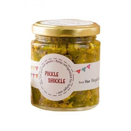 Pikkle Shikkle Spicy Homemade Green Chilli Pickle