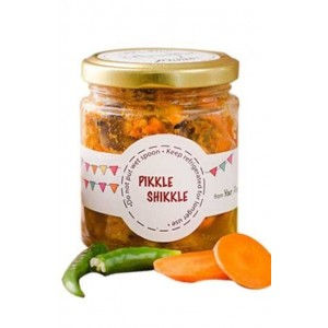 Pikkle Shikkle Homemade Mixed Vegetable Pickle