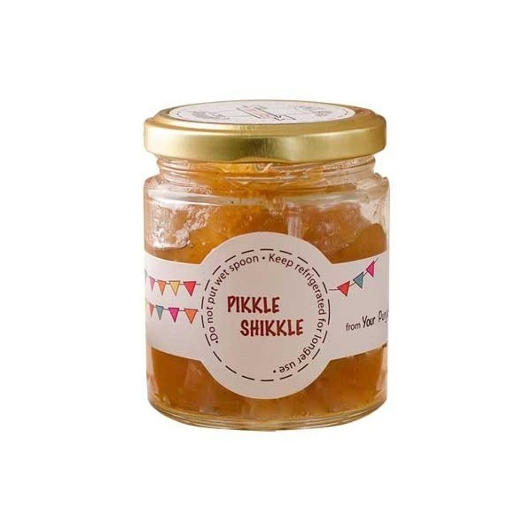 Pikkle Shikkle 100% Natural Homemade Apple Cinnamon Jam