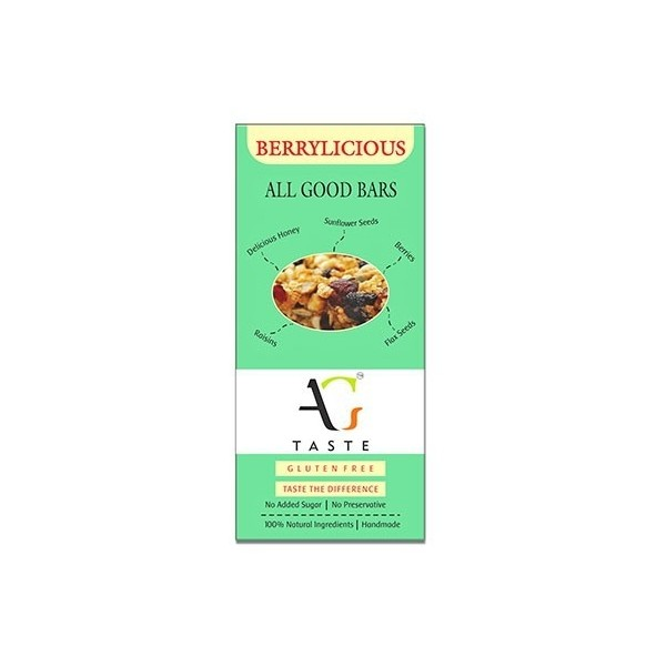 All Good Taste- Healthy Energy Bars (Berrylicious)