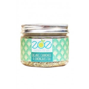 Zoe- Organic Chamomile & Lemongrass Tea- Aromatic- Cure Ailments