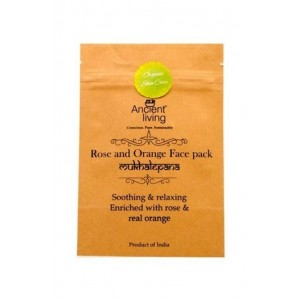 Ancient Living Rose & Orange Face Pack