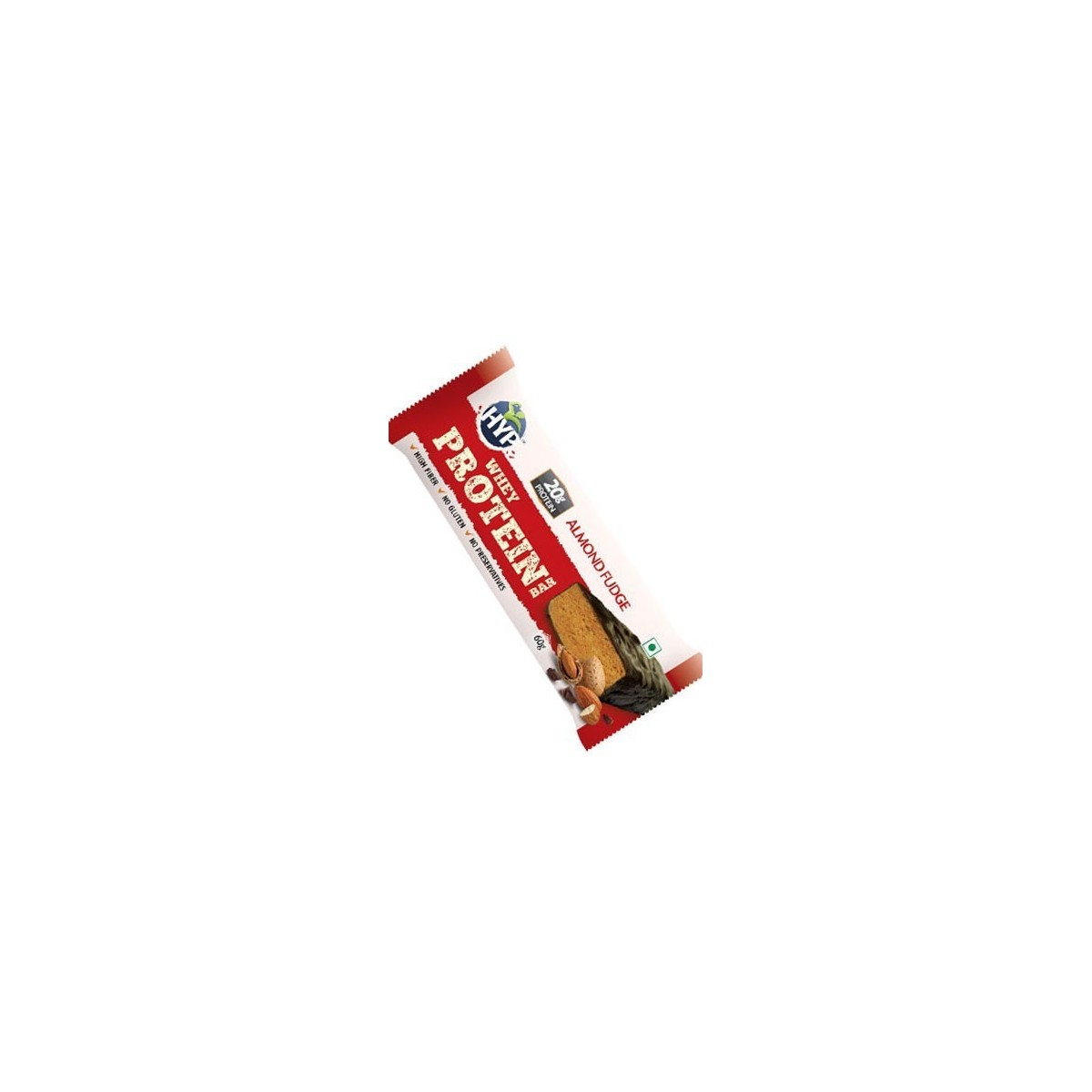 Hyp Whey Protein (Meal Replacement) Bar-Almond Fudge