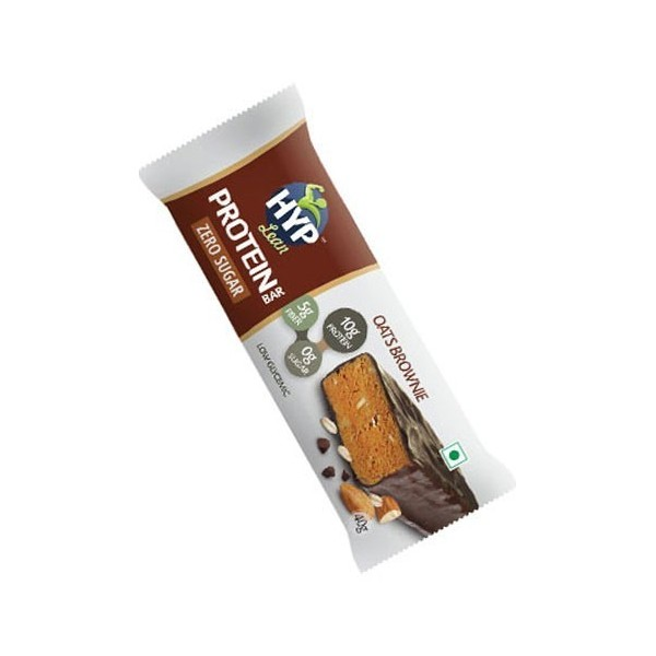 Hyp Lean Protein Bar (Sugarfree Oats Brownie) For Diabetics & Weight Loss