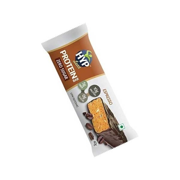Hyp Lean Protein Bar (Sugarfree-Espresso) For Diabetics & Weight Loss