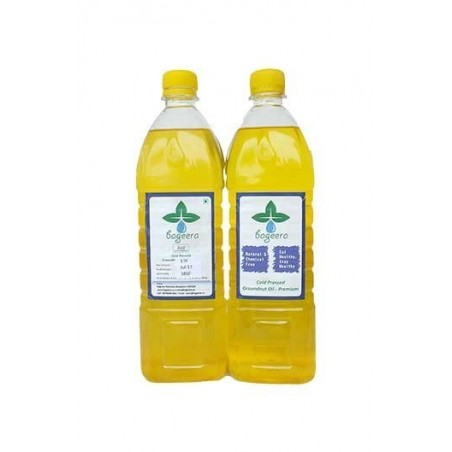 Bageera Cold Pressed Groundnut Oil Premium(1000 ml)