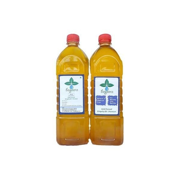 Bageera Cold Pressed Sesame Oil Premium(1000 ml)