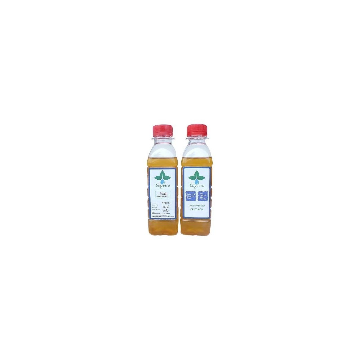 Bageera Cold Pressed Castor Oil(500 ml)