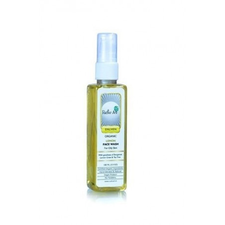 Rustic Art - Enliven Organic Lemon Face Wash 100Ml