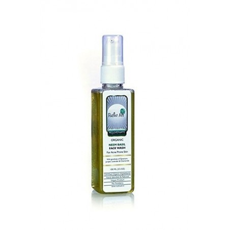Rustic Art - Rejuvenate Organic Neem Basil Face Wash