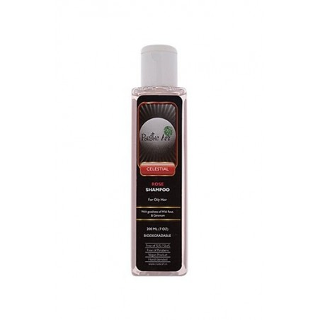 Rustic Art - Celestial Biodegradable Rose Shampoo