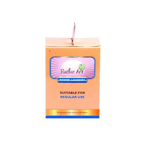 Rustic Art - Natural Power Laundry Powder (500 Gm)