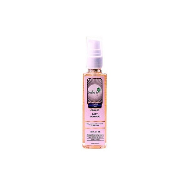 Rustic Art - Tender Care Organic Baby Shampoo ( 100Ml)