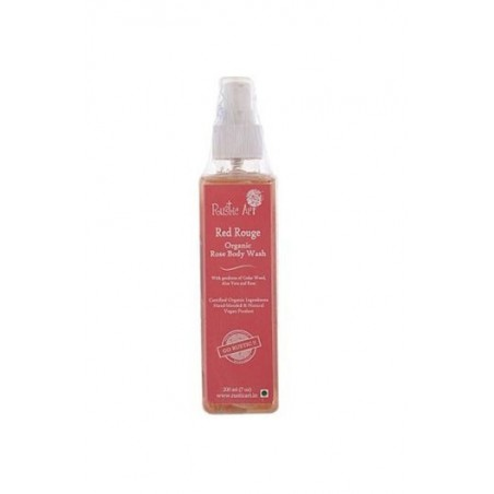 Rustic Art - Red Rouge Organic Rose Body Wash
