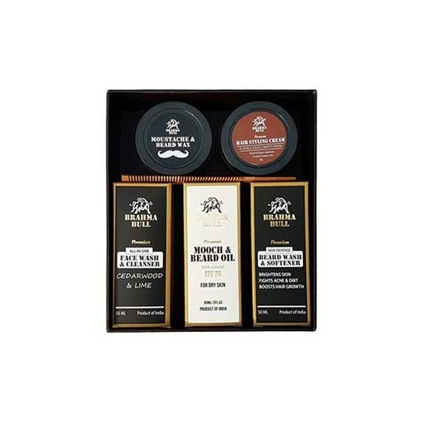 Brahma Bull The Great Beard Pack (Dry Skin)