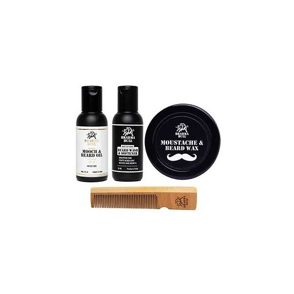 Brahma Bull Beard Lovers Pack (Oily Skin)