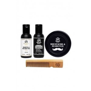 Brahma Bull Beard Lovers Pack (Dry Skin)
