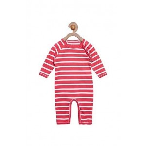 Berrytree Organic Romper Pink Stripes