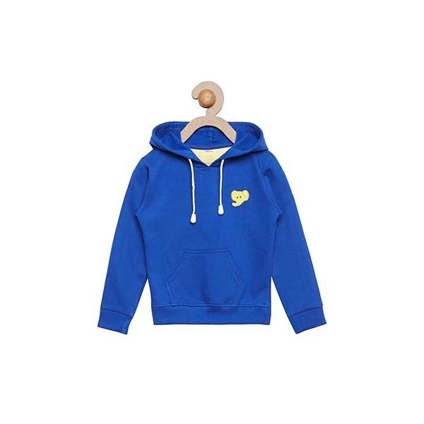 Berrytree Full Sleeves Jacket Cotton Blue