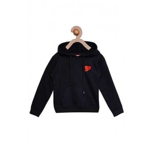 Berrytree Full Sleeves Jacket Cotton Black