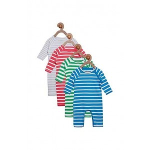 Berrytree Organic Rompers Pack Of 4