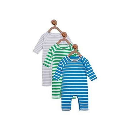 Berrytree Organic Rompers Pack Of 3