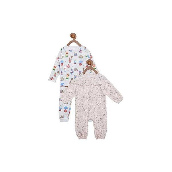 Berrytree Organic Night Suit Combo Pack Of 2