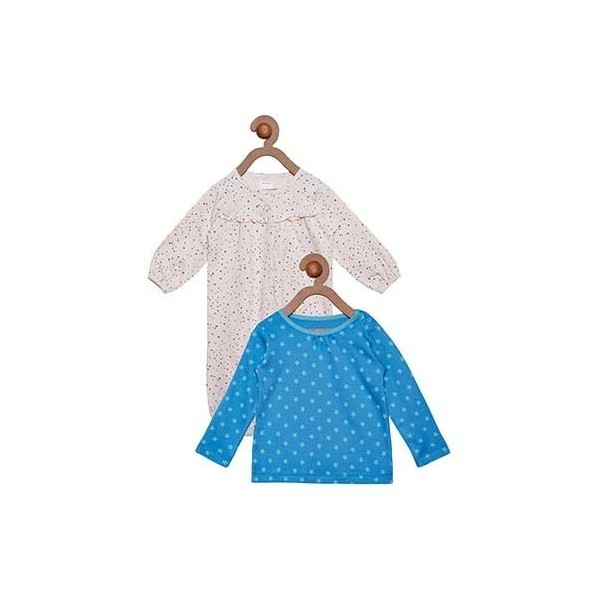 Berrytree Organic Top And Romper Combo