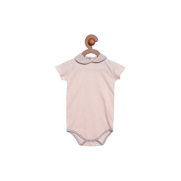 Berrytree Romper With Peter Pan Collar - Organic