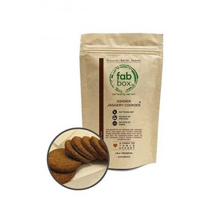 FabBox Ginger Jaggery Cookies