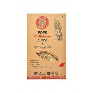 Organic Farmers Quinoa Pops Chilli Lime