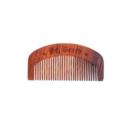 Saint Beard Beard Comb(Handcrafted From Sheesham Wood)