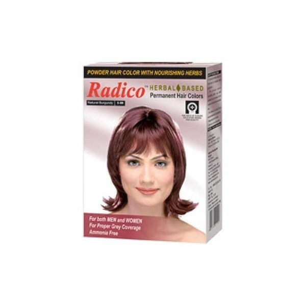 Radico Herbal Hair Color Powder Burgundy