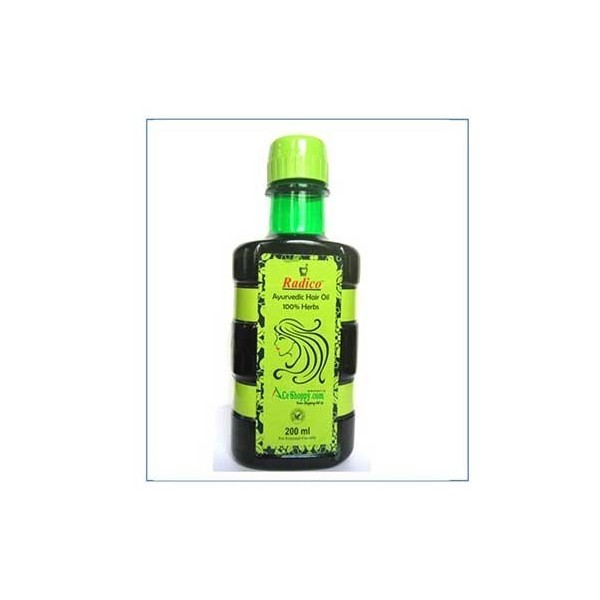 Radico- Ayurvedic Hair Oil With 100% Herbs- 200Ml