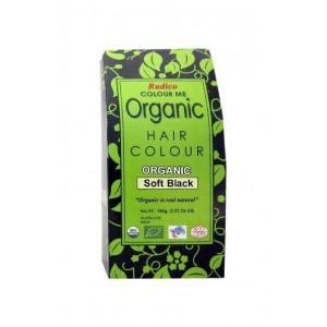 Radico- Colour Me- Organic Hair Color- Soft Black- 100Gms