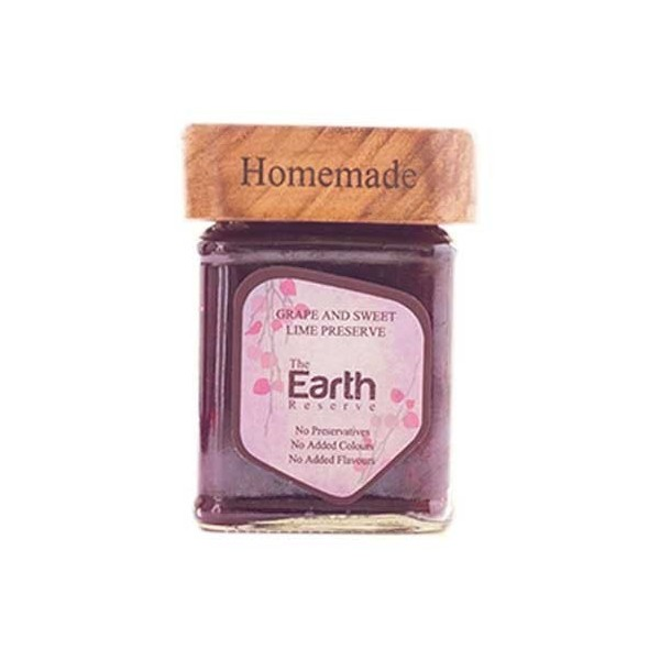 The Earth Reserve Grape & Sweet Lime Preserve