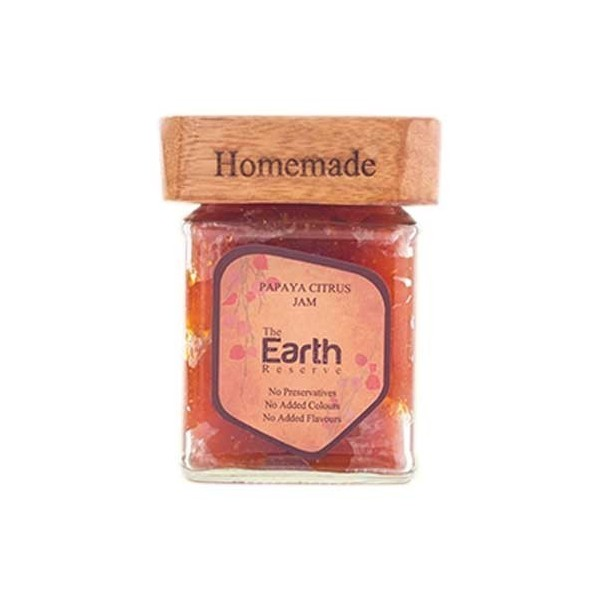 The Earth Reserve Papaya Citrus Jam