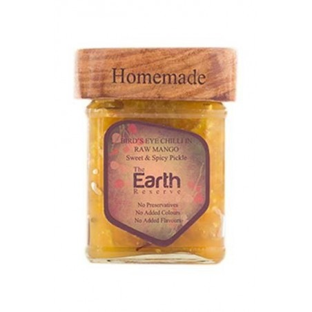 The Earth Reserve Bird'S Eye Chilli Pickle & Raw Mango, Sweet & Spicy Pickle