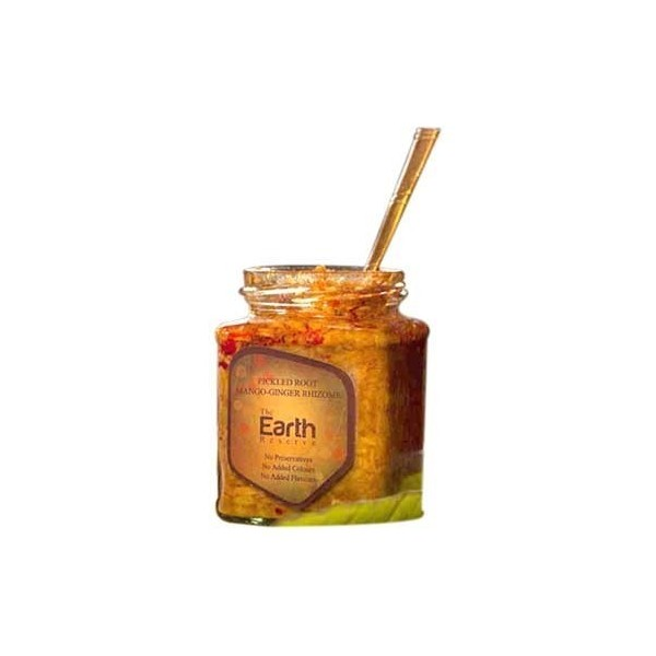 The Earth Reserve Pickled Root Mango Ginger Rhizome