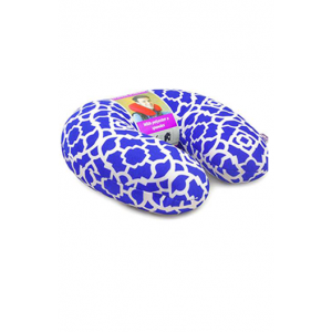 Viaggi Microbeads Travel Neck Pillow (BLUE)