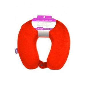 Viaggi U Shape Memory Pillow (RED)
