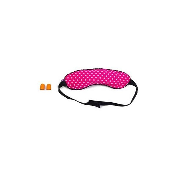 Viaggi Microbeads Eye Mask with Ear Plugs