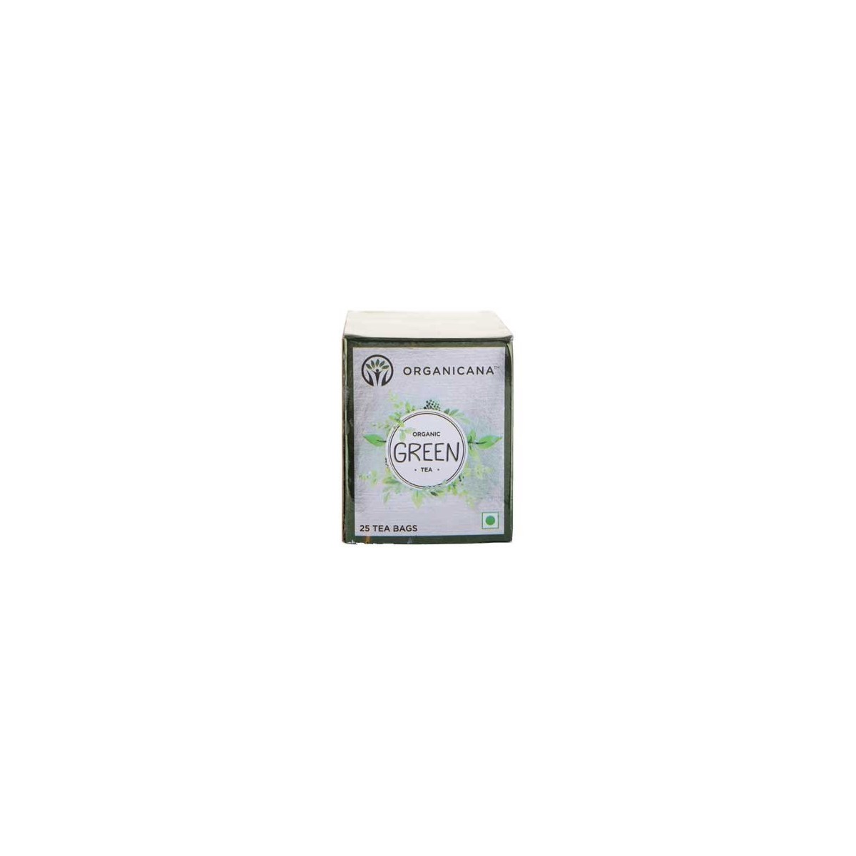 Organicana- Organic Green Tea Teabags -Regular (3 Packs X 25)
