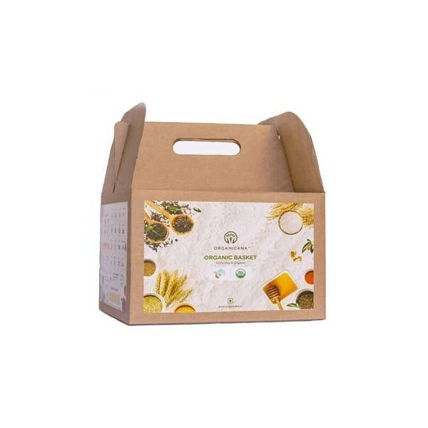 Organicana- Organic Wholesome Grocery Basket- Serves 2 People For 14 Days