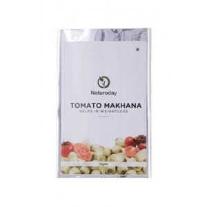 Naturoday -Tomato Makhana- Healthy Snack For Weightloss- (Pack Of 20- 360 Gms)