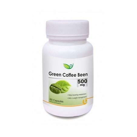Biotrex Green Coffee Been 500Mg (60 Capsules)